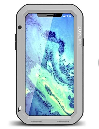 Protector de Pantalla Ultra híbrido para iPhone XS (2018) y iPhone X (2017) de Vidrio Templado, Armadura Resistente antiarañazos, a Prueba de Golpes, a Prueba de Suciedad, Funda para iPhone XS/X