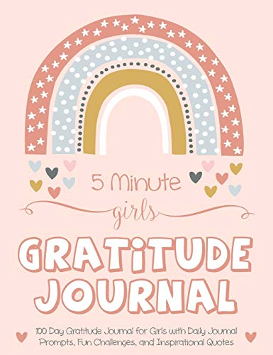 Compare Textbook Prices for 5 Minute Girls Gratitude Journal: 100 Day Gratitude Journal for Girls with Daily Journal Prompts, Fun Challenges, and Inspirational Quotes Unicorn Design for Kids Ages 5-10  ISBN 9781952016165 by Daily, Gratitude