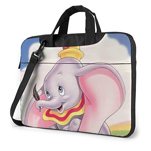 XCNGG Dumbo Laptop Bag Business Briefcase for Men Women, Shoulder Messenger Laptop Sleeve Case Carrying Bag- 14 Inch