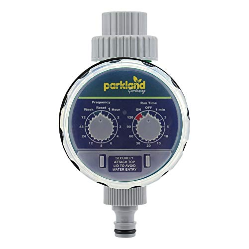 Parkland® Automatic Electronic Water Timer Garden Hose Irrigation System...