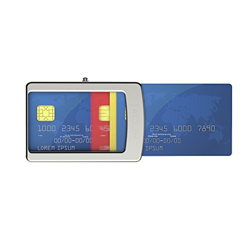 I-CLIP ® Wallet Carbon-Look, Metallic-Grey (Available in 2 Variants)