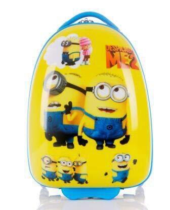 Maleta Trolley para Niños 16 Pulgadas Minions (Vasos)