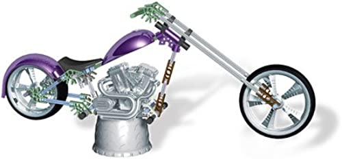 K'NEX - American Choppers - Orange County Choppers - Chrome Collection - DRAGON BIKE - smaller 1 10th Scale - 77 Teile Paket - OVP