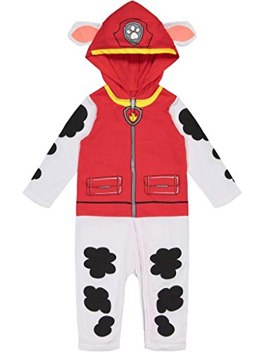 Nickelodeon Paw Patrol Marshall Baby Boys' Costume Coverall with Hood (18 Months)