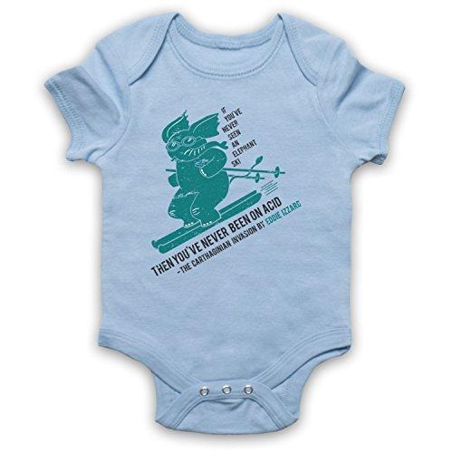 My Icon Art & Clothing Izzard Elefante Esquí Ácido divertido comediante broma para bebé