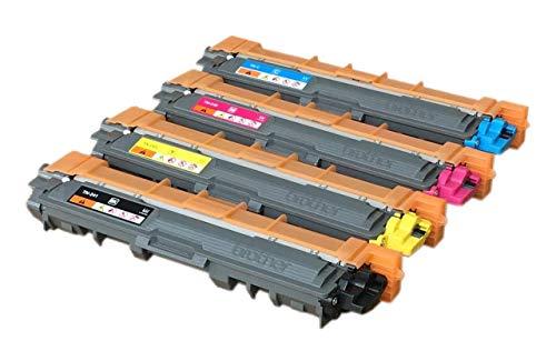 Original Brother Toner Set (TN-241BK TN-241C TN-241M TN-241Y) für Brother HL-3140cw HL-3150cdw HL-3170cdw MFC-9130cw MFC-9140cdn MFC-9330cdw MFC-9340CDW DCP-9020CDW Neutral Verpackt / Schneider