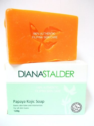 Diana Stalder Papaya Kojic Acid Whitening Soap with Pure Kojic Acid and Papain
