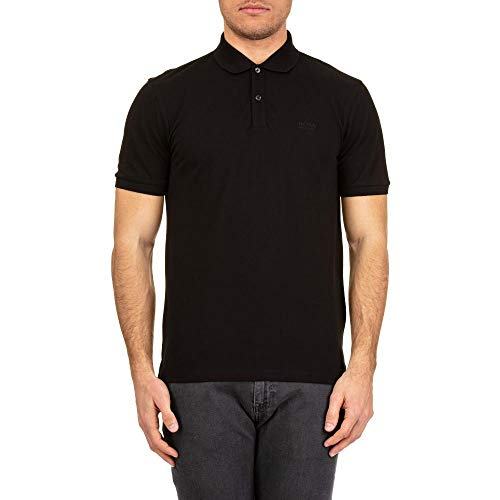 Hugo Boss Black Pallas Short Sleeved Polo BLACK LARGE