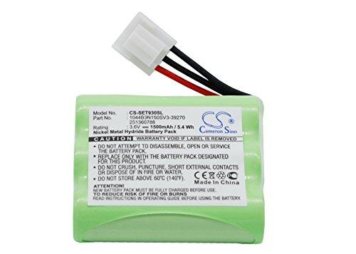 Replacement battery for Sagem MONETEL EFT930, MONETEL EFT930P, MONETEL EFT930G, MONETEL EFT930B