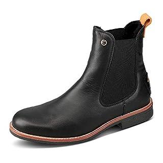 Panama Jack Gillian Igloo Chelsea Boots, Schwarz
