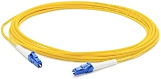 AddOn 2m Single-Mode fiber (SMF) Simplex LC/LC OS1 Yellow Patch Cable - Fiber Optic - 6.56 ft - 1 x LC Male Network - 1 x ...