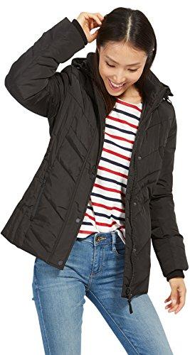 TOM TAILOR Damen Cold Day Jacket Jacke, Schwarz (Black 2999), 38 (Herstellergröße: M)