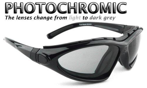 Bobster Roadmaster–Gafas de lentes de gafas de sol–photochomic