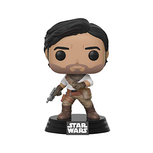 Funko- Pop Star Wars The Rise of Skywalker-PoE Dameron Disney Figura Coleccionable, Multicolor (39891)