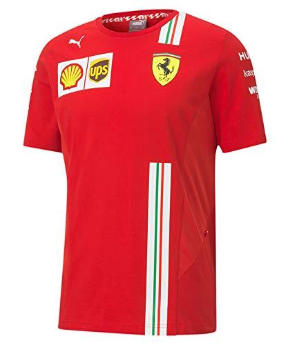 [ Scuderia Ferrari ] スクーデリア フェラーリ F1 Team 2020 オフィシャル レプリカTシャツ (S身幅48cm着丈67cm)