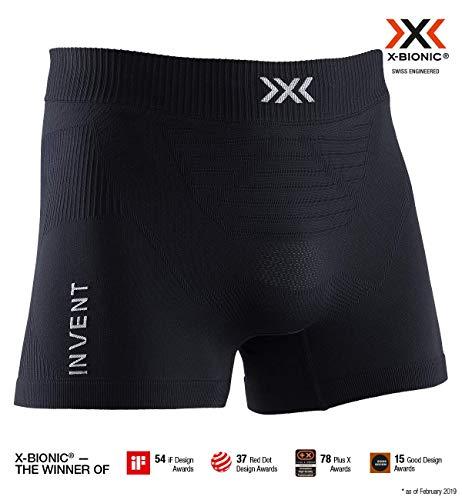X-Bionic Invent Light Boxer Shorts Men, Uomo, Opal Black/Arctic White, L