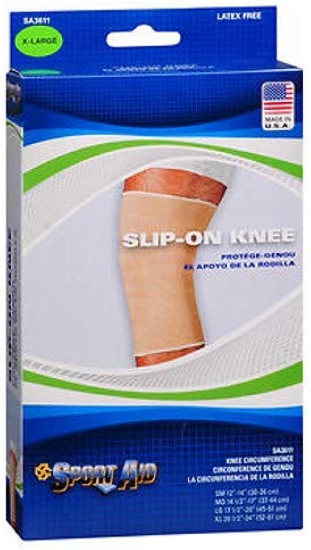 Sport Aid SlipOn Knee Wrap XL Beige  1 ea., Pack of 3