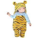 Petyoung Saco de Dormir para Bebé Recién Nacido Manta para Cochecito con Estampado de Tigre Infantil para Niños de 0 a 4 Meses Niñas