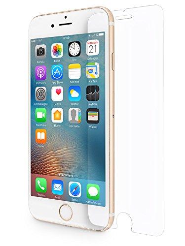WIIUKA Panzerglas -Protect- für Apple iPhone 8 und iPhone 7, gehärtetes 9H Glas mit schmutzabweisender Oberflächenbeschichtung, Premium Schutzfolie