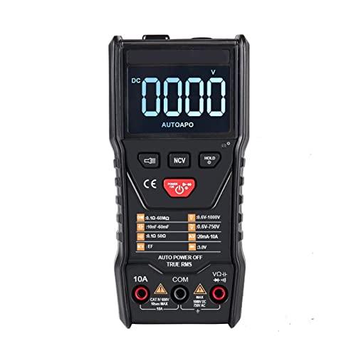 HEQIE-YONGP Osciloscopio Digital 108e Instrumento de multímetro Digital de Bolsillo Verdadero RS Valor Promedio