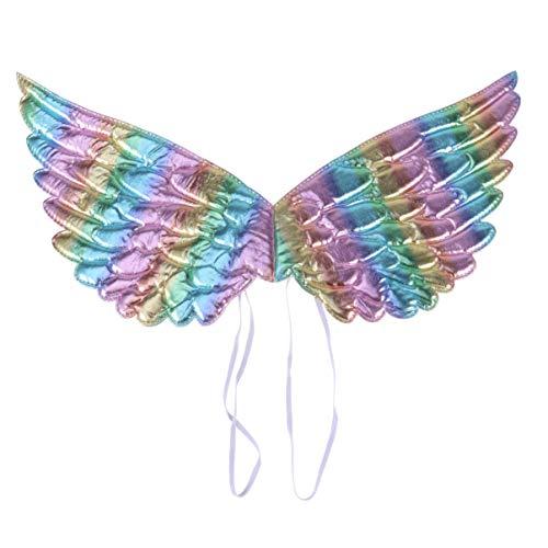 Holibanna alas de ángel niños Disfraces Disfraz de Hadas cinturón elástico Princesa Cosplay Accesorios de Foto (Colorido)