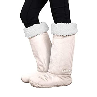 THE COMFY | Non-Skid Sherpa Slipper Socks, 2 Sizes, Shark Tank