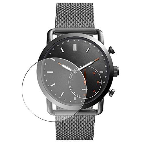 Vaxson 3 Stück Schutzfolie, kompatibel mit Fossil Q Commuter Hybrid FTW1161 smartwatch, Bildschirmschutzfolie TPU Folie [nicht Panzerglas] Neue Version