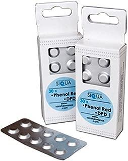 30x Recambio Phenol RED DPD1 SIQUA para minitest 7111