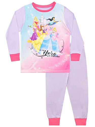 Disney Pijamas para niñas Princesas Multicolor 4-5 Años