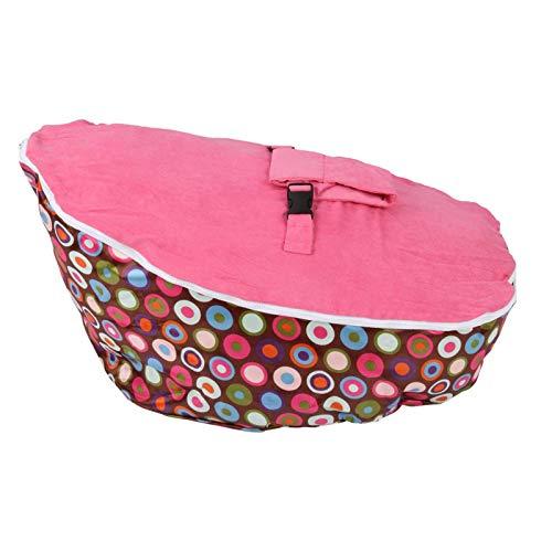 Junqin Baby Bean Bean Bag Supporto Sedia Baby Bambino Seggiolone Mini Bambini Divano Cablaggio Regolabile Cablaggio per Bambini Sedia per Bambini Sedia per Bambini Borsa per Bambini -Pink