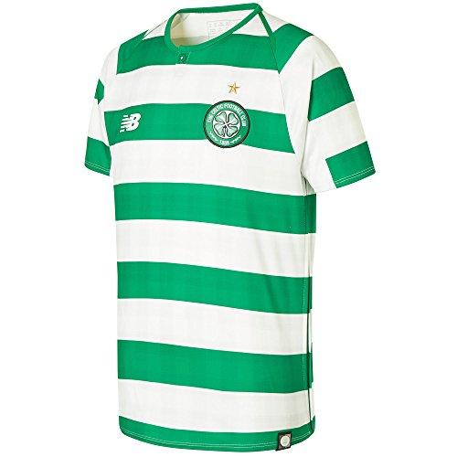 New Balance 2018-2019 Celtic Home Football Soccer T-Shirt Trikot (Kids)