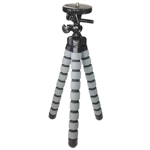 Vidpro GP-24 Flexible Tripod for Sony Alpha A6000 Digital Camera fits other Cameras and Camcorders 13 Inch