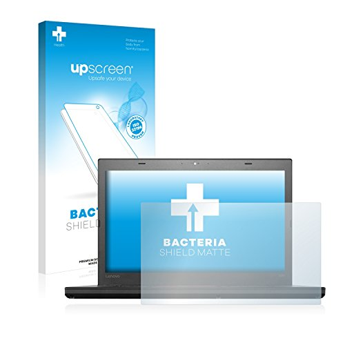 upscreen Antibakterielle Entspiegelungs-Schutzfolie kompatibel mit Lenovo ThinkPad T460 UltraBook - Anti-Reflex Bildschirmschutzfolie matt