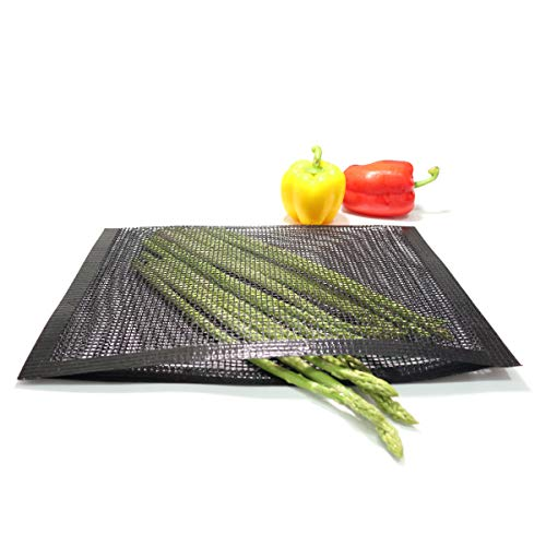 Check Out This Bluedrop Large BBQ Mesh Bags Non Stick Toaster Baking Bags Barbecue Mat Outdoor Picni...