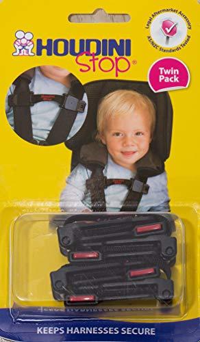 Houdini Stop Cinture di Sicurezza per Bambini - Pacco Doppio.