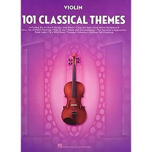 101 Classical Themes -For Violin-: Noten, Sammelband für Violine