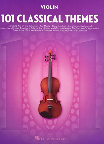 101 Classical Themes -For Violin-: Noten, Sammelband für Violine