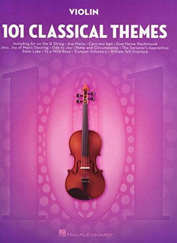 101 Classical Themes for Violin (VIOLON)