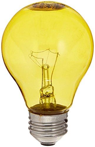 GE Lighting 49728 25-Watt Yellow Light Bulb
