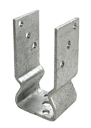 Connex Pfostenträger mit Sicke 101 x 150 x 60 mm, feuerverzinkt, HV4283
