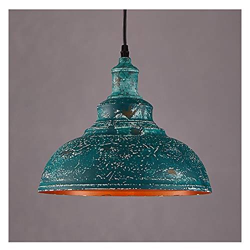 Iluminación colgante Luz pendiente Loft industrial de una sola cabeza de hierro de la lámpara del pasillo del pasillo Restaurante Bar (Color : #2)