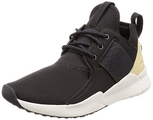 Reebok Guresu 1.0, Damen Sneaker, Grau (Coal/Ash Grey/Straw/Chalk 000), 41 EU