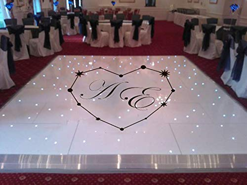 wedding dance floor wall decal dance floor wall sticker wedding wall vinyl wedding decor wedding favors decal personalized ae1168