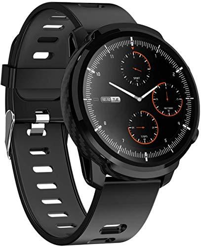 Gymqian Smart Watch, 1,3 Pouce Haute Définition À Grande Définition, Bracelet de Sport Météo À L'Eau Multifonctionnel, Bracelet de Caméra de Rappel D'Informations, Pour Android Et I