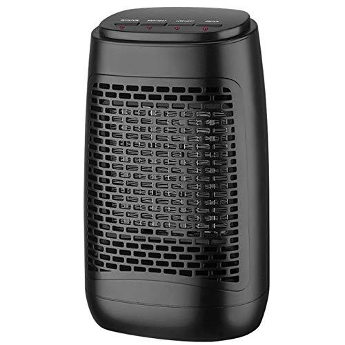 Ventilador Calefactor para Oficina En Casa Y Dormitorio Mini Calefactor Cerámico PTC 1200W con Protección Incorporada Mini Calefactor Eléctrico Personal (220V / 110V)