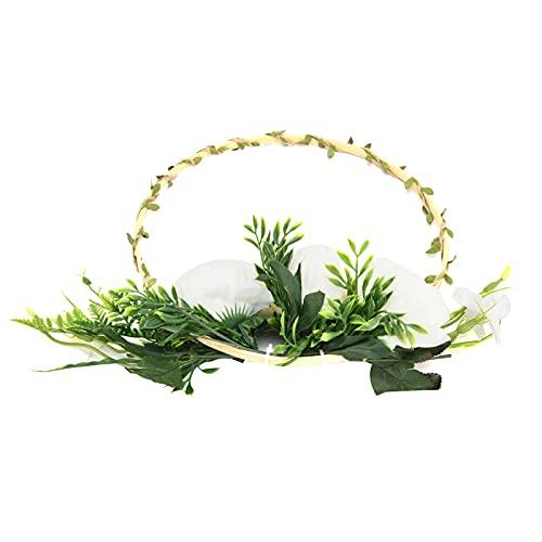 SALUTUYA Ghirlande di Fiori per la Decorazione, Cerchio Floreale Bellissimi Fiori per Decorazioni per ricevimenti per asili Nido