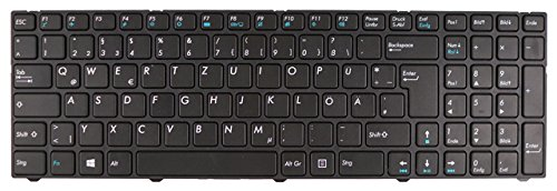 NExpert Orig. QWERTZ Tastatur für für Modell Medion Akoya E6237 E6239 E6239T E6240 E6240T E6241 E6647 E7223 E7223T E7225 E7225T E7226 E7226T E7227 E7227T E7228 E7415 E7415T E7416 E7419 E7631 DE Neu
