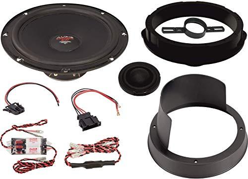 Audio System Xfit - Altavoces para VW T5 EVO 2 (Compatible con VW T5, TIGUAN, Sistema Frontal de 2 vías)