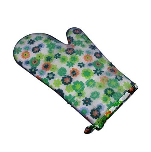 Dbtxwd Four à micro-ondes gants anti-chaleur Silica gel gants de cuisine gants haute température bicarbonate (pack de 2) , 1