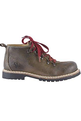 Spieth & Wensky Herren Herren Trachten-Schuh rustikal braun, Rustic, 42